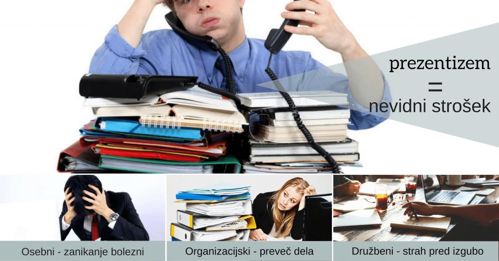 Prezentizem – težava, ki ji delodajalci namenjajo premalo pozornosti, oziroma se je sploh ne zavedajo