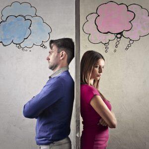 komunikacija moški ženska